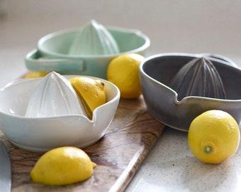 Pottery Citrus Juicer