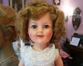 Vintage 1950's 1960's Shirley Temple Doll 17""