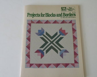 Projects for Blocks and Borders by Marsha McCloskey (Paperback)