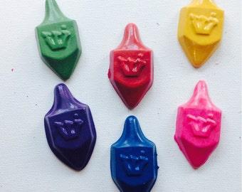 Dreidel crayons