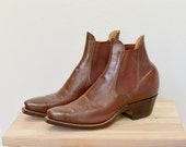 Justin Woman Vintage leather ankle boot size 6.5 - 7.5
