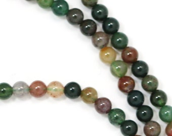 Fancy Jasper Beads - 3mm Round