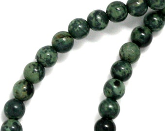 Kambaba Jasper Beads - 4mm Round