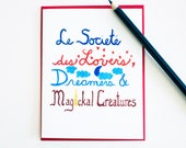 Lovers Dreamers Magickal Creatures 4 card set birthday wedding