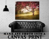 ON SALE 20% OFF make any photo a stretched canvas print, large wall art, large canvas wall art, photo on canvas, home decor, custom canvas p