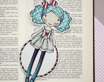 Miss Cloud9 - Romantic Carnival - bookmark - made to order