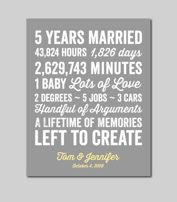 5 Yr Wedding Anniversary Gift: 5 Year Anniversary Gift Anniversary Gift For Wife