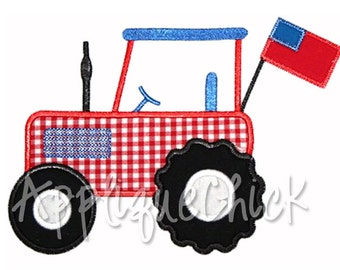 Tractor Applique Design