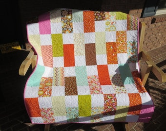 Wrens Friends - Homemade Baby, Toddler Or Lap Quilt