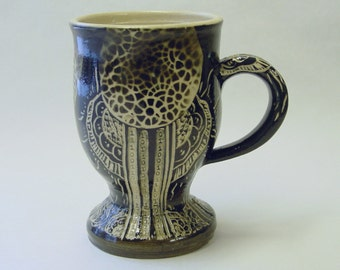 Barcode Mandala Mug