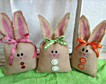 Easter bunny burlap easter bunny easter decoration easter easter bunny easter rabbit easter bunny rabbit easter basket child gift burlap negle Gallery