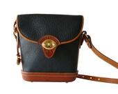 Authentic Classic Dooney & Bourke Cavalry Spectator Small Crossbody Shoulder Bag AWL