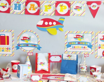 Farm birthday decorations printable farm party package for 1st birthday decoration packages