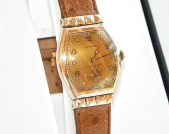 Vintage Benrus Wrist Watch--1930's