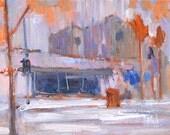 Coronado Rain, Landscape Painting