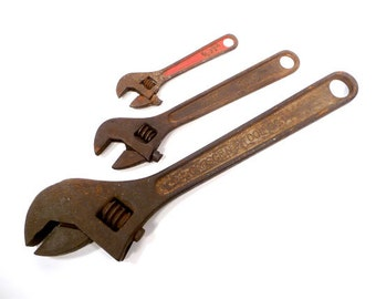 Antique Plumbing Wrenches