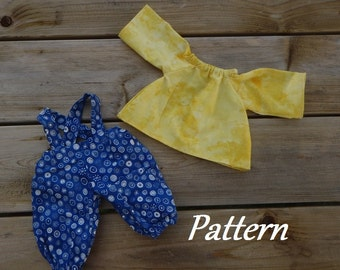 Pattern ~ Under Rainbows Clothing Patterns for Boy Dolls