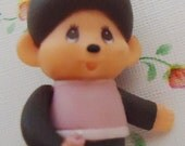 Monchhichi  Doll Pendant. Perfect for your crafts