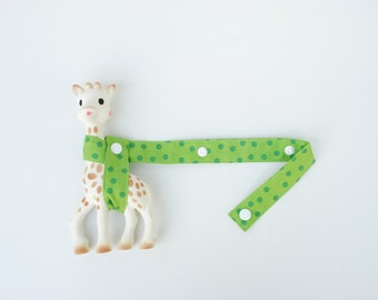Toy Holder - Scattered Dots in Pear