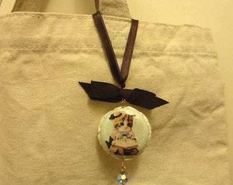 Miss Kitten Kawaii Sweets Macaron Decoden Charm