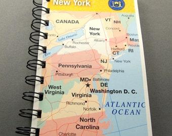 Travel Journal Travel Notebook New York Journal New York Notebook State Journal State Notebook RV Journal Vacation Journal Vacation Notebook