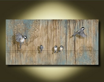 A Rival in Departure #2 ...Fine Art Canvas Print on Canvas or Paper by Kimberly Fox...home decor...available in different sizes