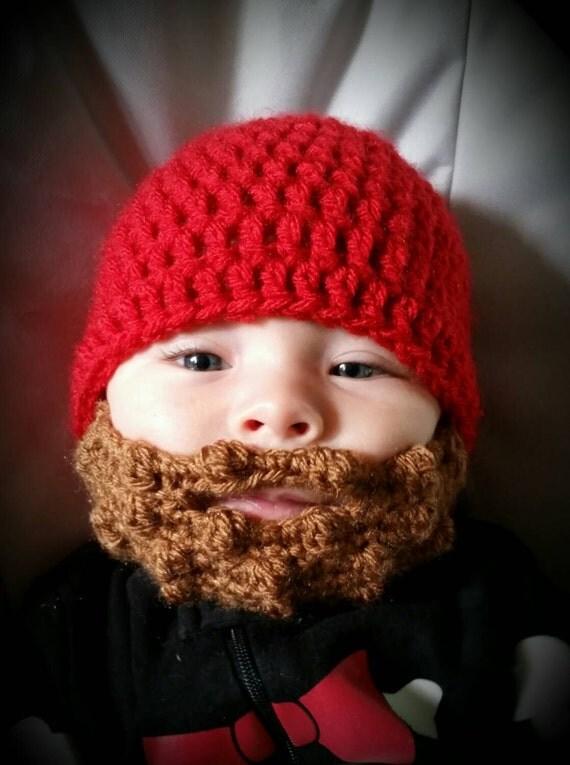 Baby Beard Beanie Hat Cap Custom Size And Color Beard Hat