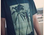 2 Palm men's triblend tshirt