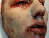 Diamond - Skinned Horror Silicone Mask