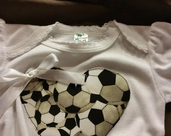Baby and Toddler Girl  Soccer outfit