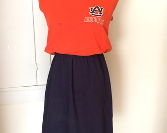 Auburn University Tigers Game Day T Shirt Tee Dress