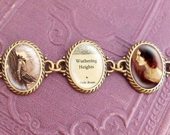 "Emily Brontes ""Wuthering Heights"" - Literature Bracelet"