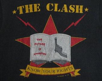 THE CLASH 1982 tour TSHIRT