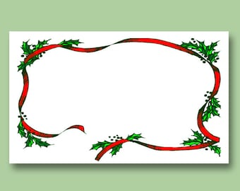 Hand Written Personalized Gift Card (to be included with ornament)
