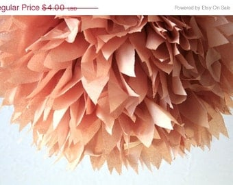 Party decor - terra cotta ... 1 Pom / weddings / birthday parties / special occasions / DIY kit