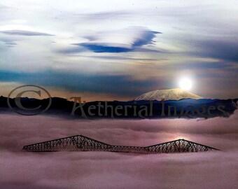 Skytrain Bridge 12x18 Fine Art Print