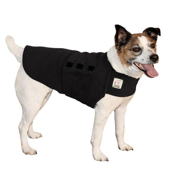 JACK RUSSELL Tummy Warmer, Dog Clothing, Fleece Dog Coat, Dog Sweater