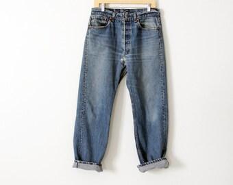 1980s Levis 501 denim jeans, waist 32