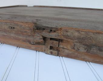 Antique Egg Incubator Wood Door - Salvaged, Primitive, Rustic, Unique