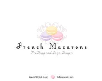 French Macaron - PreDesigned Logo Design