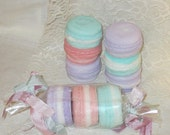 Food Soap French Macaron Soap French Macaroon Soap Yummy Food Soap,  3 Macaron Soaps, Natural Handmade Soap