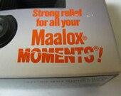 Gag Gift Fun Laughter For What Ails You Advertisement Maalox Moments FujiColor QuickSnap 1 Time 35mm Camera Fun Collectible Display and Use