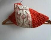 Winter Cowl for the Mori girl - crocheted cowl, crocheted scarf, mori cowl, kawaii, statement scarf, lace, c