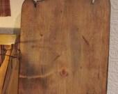 Primitive and Colonial special design bread board