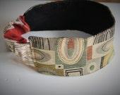 Eco friendly reversible fabric headband