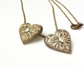 Girlfriend gift idea, Valentine's gift for her, HEART Paper necklace