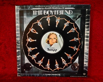 The BOY FRIEND...Original Motion Picture Soundtrack - 1971 Vintage Vinyl Gatefold Record Album...Promotional Copy