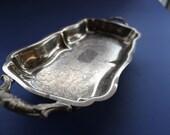 Leonard Silver plate, Silver, Tray, Serving, Silver Tray