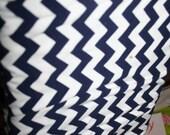 Navy Chevron Fabric - Ril...