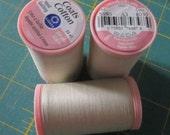3 spools of Coats & Clark S980 Hand Quilting Thread 350 yds - #8030 Ecru
